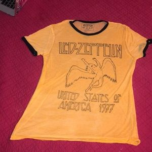 Very soft yellow led zeplin shirt, only worn once